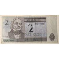 2 кроны Эстония 2002
