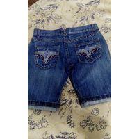 Шорты джинсовые - нарядные