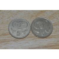 Кипр 5 центов (85,88)