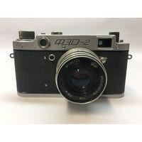 Фотоаппарат Фэд 2 синий