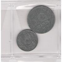 1 и 10 центов 1942 Нидерланды. Возможен обмен