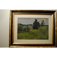 Андрушкевич В И Заслуженый худ РФ (1923-2010) Высокая трава 1957 г