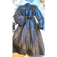 Роскошное кожаное пальто Reisler