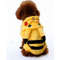 Комбинезон  Покемон мохнатенький двухсторонний флисовый мех для собак.