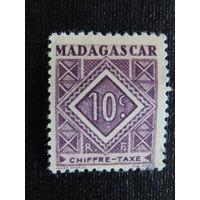 Французский Мадагаскар 1947 г. Стандарт.