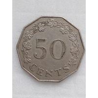 Мальта 50 цент 1977