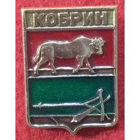 Значки СССР: герб города Кобрин (ныне Беларусь), Русский сувенир