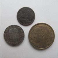 Монеты,старая Европа.С РУБЛЯ