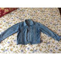 Куртка джинсовая р. 46