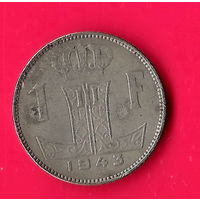 49-12 Бельгия, 1 франка 1943 г.