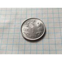 Индия 1 рупия, 2013    Мумбаи