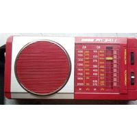Радиоприемник ВЕГА РП-314-1 красный отличное состояние