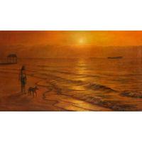 """Картина: """"Рассвет на Черном море"""". Автор Кирилл Владимирович Мельник"""