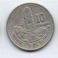 РЕСПУБЛИКА ГВАТЕМАЛА  10 ЦЕНТАВО 1983.
