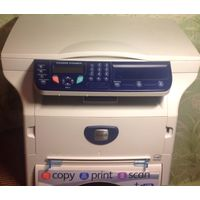 Лазерный принтер-МФУ (3 в 1) Xerox Phaser 3100 MFP/S, пробег 1252 стр