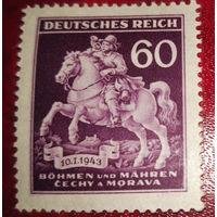 Богемия и Моравия, история почты, день почты, распродажа