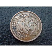 Новая Зеландия 2 цента 1977 год.