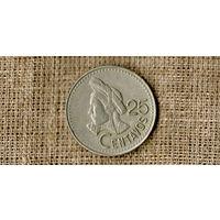 Гватемала 25 Сентаво 1995 ///(ON)