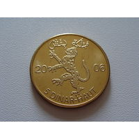 "Биффеше. 5 динар - хаут 2006 год   ""Королевство Сенегал"" UNUSUAL"