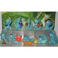 Киндеры динозавры малыши, 1993