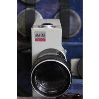 Кинокамера бобинная СССР, Лантан Ломо, рабочая + комплект светофильтров.
