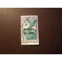 Французская колония Территория Инини  1932 г.Индеец с луком.