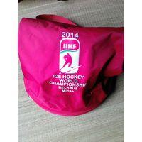 Рюкзак с эмблемой ЧМ-2014 года.