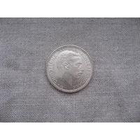 Дания: 2 кроны серебро 1930 год 60-летие короля Кристиана X от 1 рубля без МЦ