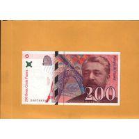 Франция  200 франков1996г. унс