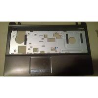 Верхняя часть нижней части ноутбука Asus k53u с тачпадом