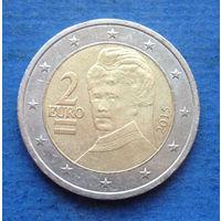 Австрия 2 евро 2015