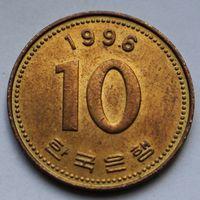 10 вон 1996 Корея