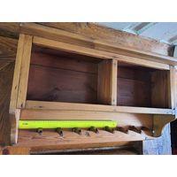 Полка деревянная ручной работы