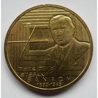 "Польша 2 злотых 2012 ""Стефан Банах 1892-1945"""