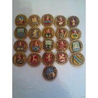 Золотое кольцо России, гербы городов