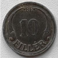 Венгрия 10 филлер 1942