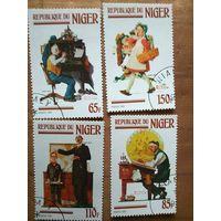 Нигер.1982. Норман Рокуэлл-американ. художник