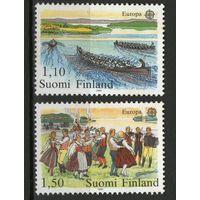 Финляндия. Михель- 881-882. Чистая.