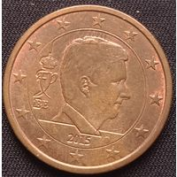 Бельгия 5 евроцентов 2015