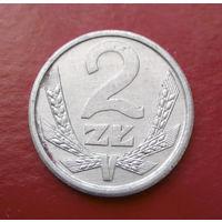2 злотых 1989 Польша #01