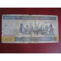 1 000 манат 2001, Азербайджан