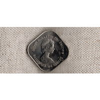 Джерси 1 фунт 1981/200 лет штурма Джерси/(Ah)