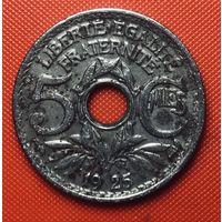 27-11 Франция, 5 сантимов 1925 г.