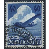 1936 - Рейх - 10 летие Люфтганза Mi.603