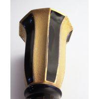 Ваза вазочка фарфоровая кобальт позолота Jlmenau KPM Bavaria