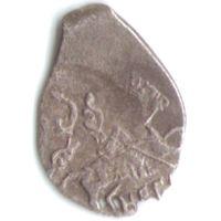 Копейка 1605-1606 Дмитрий I Иванович (Лжедмитрий) чеканка в Новгороде _состояние VF