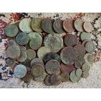 Лот монет Ри  60 штук с рубля!