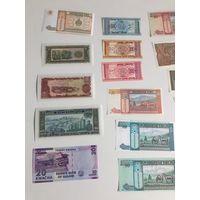 Новые банкноты сборник 3