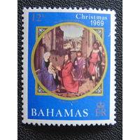 Багамы 1969 г. Рождество.