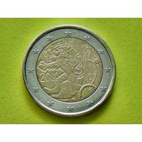 Финляндия, 2 евро 2010, биметалл, 150 лет финской валюте